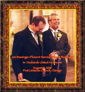 Los Angeles Wedding Officiant's wedding