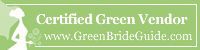 Los Angeles Wedding Officiant is Green Bride Guide certified!