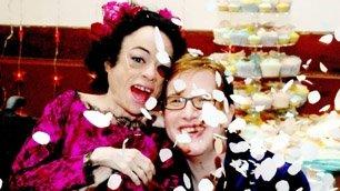 Disability Dia de los Muertos Wedding