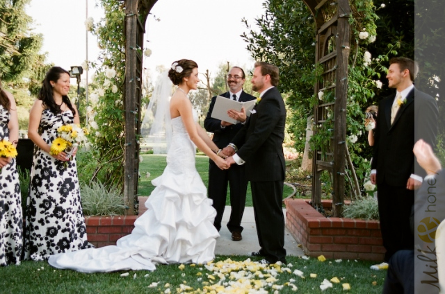 Los Angeles Wedding Officiant At Camarillo Ranch
