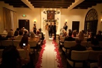 Los Angeles Wedding Officiant at Ramsey's in Toluca Lake