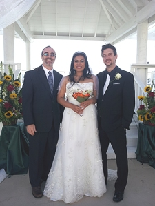 Cisneros Haldeman wedding
