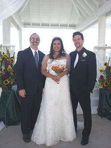 Cisneros Haldeman wedding