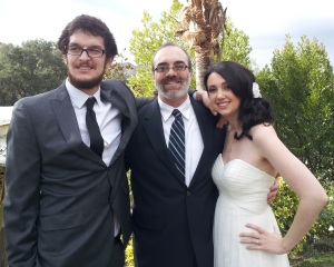 Tony, Brooke, and Rev. Jon Bassinger-Flores