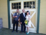 Congratulations, Matt and Shannon!